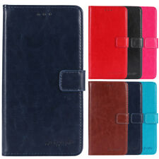 1X Leather Protection Cover Shell Wallet Etui Skin Case For Cubot Doogee Homtom
