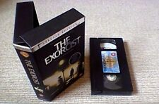 THE EXORCIST F/S LTD SPECIAL EDITION UK PAL VHS VIDEO 1999 + THE MAKING OF