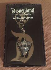 *NEW Disneyland 60th Celebration Jewel Diamond Metal Keychain