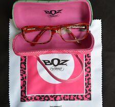 $535 NEW! BOZ  by J.F. Rey ''NOTTE'' 3030 RED 55 16 130 Eye glass Frames