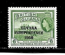 Guyana Stamp-Scott # 3/A60-3c-Mint/NH-1966-Overprinted-OG