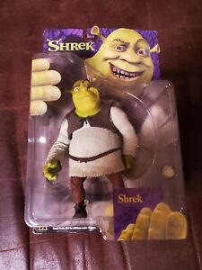 "2001 SHREK McFarlane Toys 6"" Action Figure Closed Mouth With Onion  NIP"