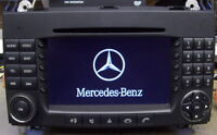 Reparatur Mercedes Benz Comand APS NTG 2 / Startet nur bis Mercedes Stern W209
