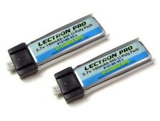 Brand New Lectron Pro 3.7 volt 180mAh 45C Lipo Battery 2-Pack Blade Nano QX