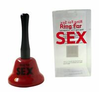 Ring for Sex Bell Adult Hen Stag Party Wedding Night Gifts Joke Games