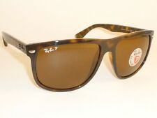 New RAY BAN Sunglasses Brown Frame  RB 4147 710/57  Glass POLARIZED Brown Lenses