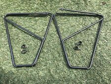 NOS BOR YUEH FRONT LOW RIDER PANNIER RACKS,FOR TOURING,COMMUTER.WITH CLIPS