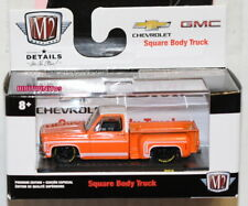 M2 MACHINES SQUARE BODY AUTO TRUCKS 1976 CHEVROLET SCOTTSDALE CHEVY SPORT R58