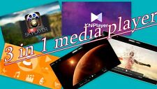 3 in 1   Media Player Software DIVX, MPEG, AVI, MP4, WMV, DVD, CD, VCD, MKV