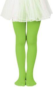 Zando Girls Stretchy Dance Tights Comfort Colorful Leggings Pants Elastic Ballet