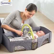 Summer Infant fold n go Portable Light weight Baby Infant Travel Bassinet