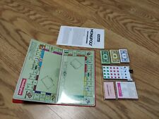 Vintage Waddington's Monopoly Magnetic Pocket Edition Travel Board Game unused