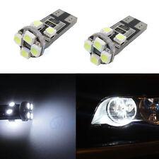 2X White LED Side Lights Parking Light Bulbs Error Free For BMW E36 E46 E39 X5