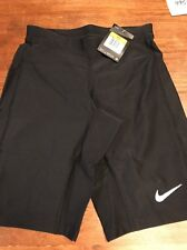 NWT NIKE DRI FIT MENS RUNNING SHORTS BLACK SZ SMALL