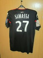 Maillot porté jersey maglia shirt ancien SAMASSA 27 VALENCIENNES VAFC  2011-2012