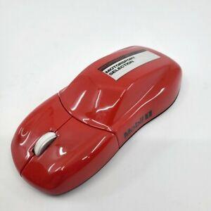 Bright Red Porsche Design Drivers Selection USB Computer Laptop Laser Mouse