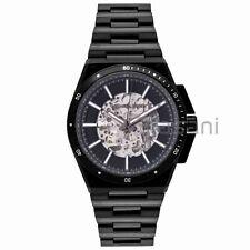 Michael Kors Original MK9023 Men's Wilder Black Metal Stainless Autom Watch 44mm