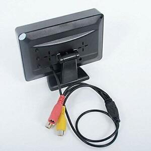 4.3 Inch TFT LCD Color Display Car Rear View 180 Degree Adjustable Monitor Scree