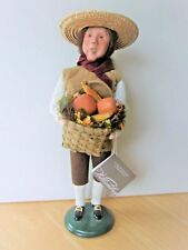 Byers Choice 2007 Harvest Man, created for Williamsburg, tag, mint