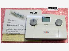 Wolf 2733055 - Witterungsgeführter Regler AWT 2A - 27 33 055 - Für SCOM und eBus