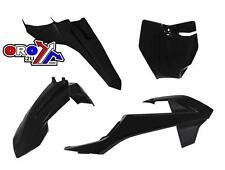 KTM SX65 16-17 RACETECH PLASTIC KIT BLACK