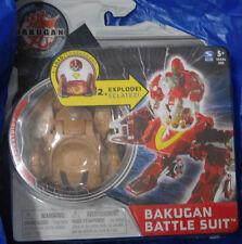 BAKUGAN Mechtanium Surge Tan Subterra COMBUSTOID Battle Suit with Ability Card