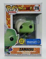 Funko Pop! Dragonball Z Zamasu #316 Glow in the Dark Walmart Exc.+ Pop Protector