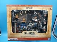 neuf figurine final fantasy IX FFIX BA VIVI ORNITIER & ADELBERT STEINER
