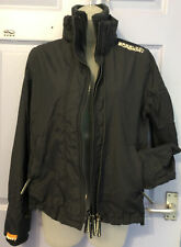 Ladies 12 Superdry M Navy Windcheater Jacket Great Condition!