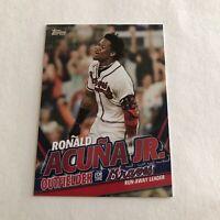 2020 Topps Update Series Ronald Acuna Jr Highlights Insert TRA-19