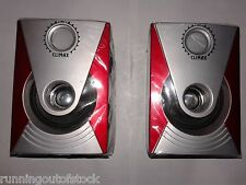 Pair of Satellite Speakers, Home Theater Satellite Speakers 2 pcs