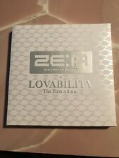 Ze:A Lovability The First Album Cd + Book Children of Empire K-Pop Zea