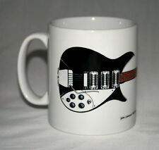 Guitar Mug. John Lennon's 1964 Rickenbacker 325 Capri illustration.