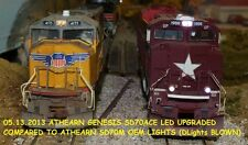 HO BRIGHT MONSTER LEDs KATO ATHEARN SD9043MAC ES44AC SD40-2 SD70M SD70ACE SD60M