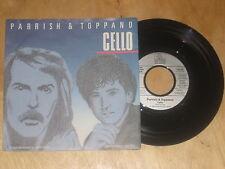 Parrish & Toppano - Cello  Vinyl  Single