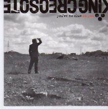 (CE543) King Creosote, You've No Clue Do You - 2007 DJ CD
