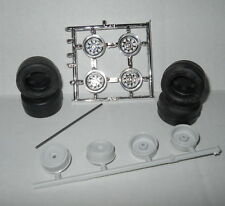 ANBW 1/25 GOODYEAR/BASSETT TIRES/WHEELS Model Car Mountain KIT PARTS nascar or?