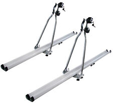 2x HD Aluminum Car Rooftop Rack Upright Roof Mount Bike Bicycle Carrier SUV Van