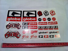 GLOBE SKATEBOARD SKATE SHOES VINTAGE STICKERS PACK RODNEY MULLEN,CHET THOMAS