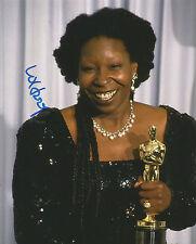 Whoopi Goldberg Signed Academy Award 10x8 Photo AFTAL