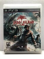 Dead Island (PlayStation 3 PS3) Complete w/ Manual - Tested Working - Zombies