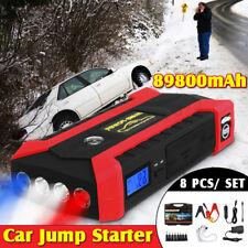 82800mAh Portable Car Jump Starter Emergency Charger Booster Power Bank 4USB