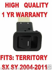 Single Power Window Switch for Ford Territory SX SY 2004-2011 illuminated Black