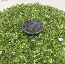 Natural Peridot Gravel Polishing  Stone Fish Tank Decoration 2.2lb 5-7mm