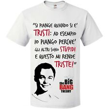 T-Shirt uomo con le frasi di Sheldon Cooper,  The Big Bang Theory!