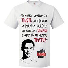 T-Shirt uomo con le frasi di Sheldon Cooper,  The Big Bang Theory!
