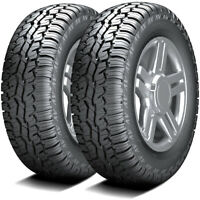 2 New Armstrong Tru-Trac AT LT 235/80R17 Load E 10 Ply A/T All Terrain Tires