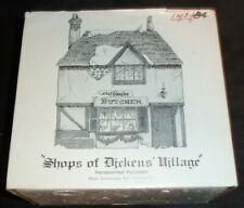 Dept 56 Dickens Village Abel Beesley Butcher Shop Original Series Read