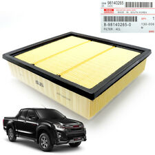 Genuine Engine Air Flow Filter Yellow Fits Isuzu Dmax D-Max Pickup 2012 2018