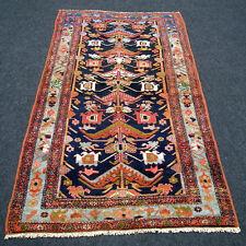 Antiker Orient Teppich 216 x 107 cm Perserteppich Antique Oriental Carpet Rug